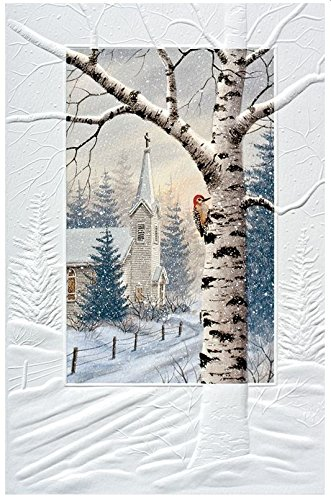 amazon com pumpernickel press boxed christmas cards the sanctuary