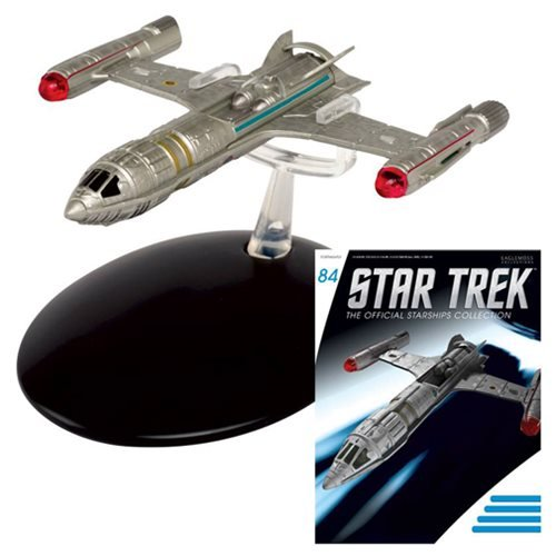 Star Trek Starships NX Alpha Prototype Die-Cast Vehicle with Collector Magazine #84