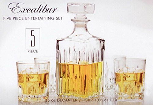 excalibur whiskey set - 2