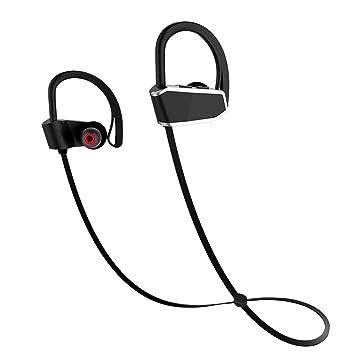 Auriculares Bluetooth INKERSCOOP Auriculares Inalámbricos Deportivos Mic IPX7 Auriculares Estéreo de Alta Definición a Impermeable para Gimnasio Running 8 ...