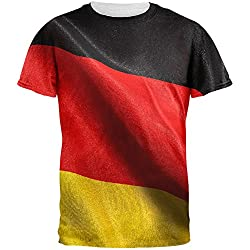 World Cup - German Flag All Over Adult T-Shirt