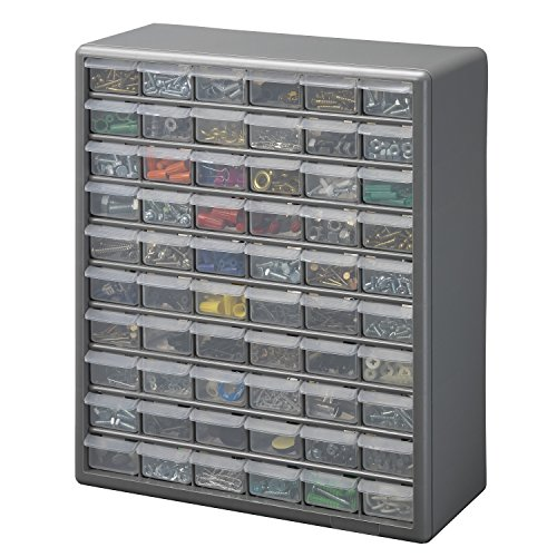 Equipment Rack Storage Drawers (Stack-On DS-60 60 Drawer Storage Cabinet)