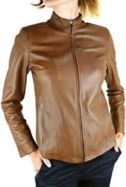 DDMilano Ladies Prime Leather Biker Jacket Women's Italian Designer