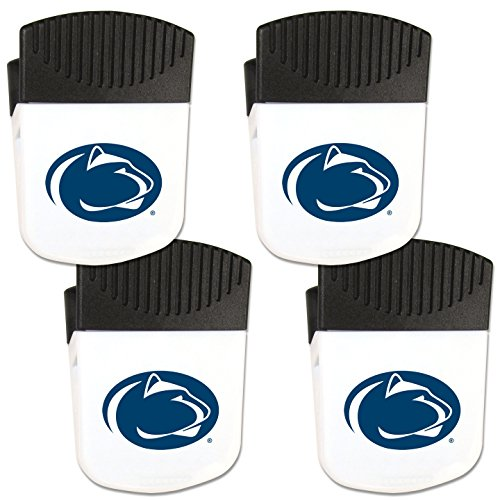 Siskiyou NCAA Penn State Nittany Lions Chip Clip Magnet with Bottle Opener, 4 Pack