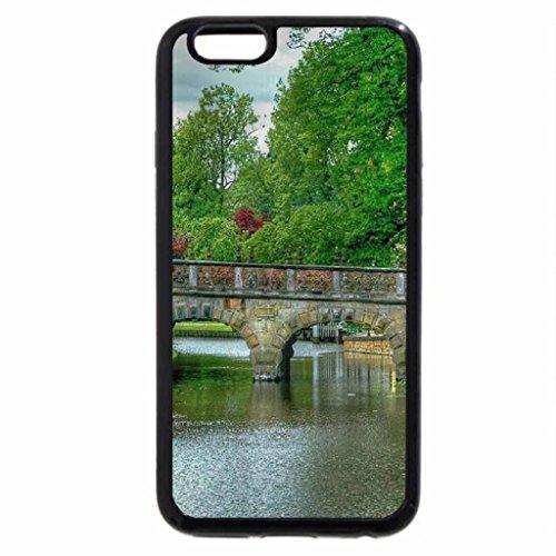 iPhone 6S / iPhone 6 Case (Black) ROSE BRIDGE
