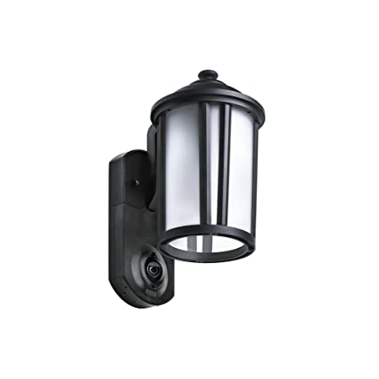 Outdoor Security Light With Camera Amazon maximus video security camera outdoor light maximus video security camera outdoor light traditional black works with amazon alexa workwithnaturefo