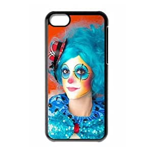 Protection Cover Hard Case Of Clown Cell phone Case For Iphone 5C by icecream design