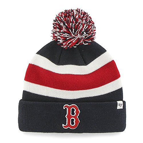 MLB Boston Red Sox Breakaway Knit, Navy, One Size
