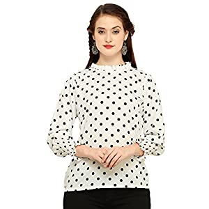 J B Fashion Women's Polyster Multi Color Regular Fit Top