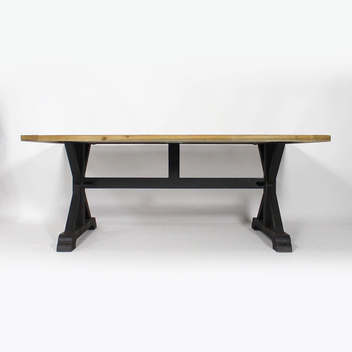 Tisch Pinie Recycle Authentiq Holz Metall Schwarz Jetzt Bestellen