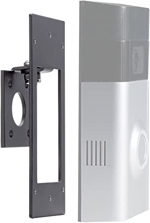 Angle Mount Adapter Mounting Bracket Wedge Kit Black For Ring Video Doorbell 2
