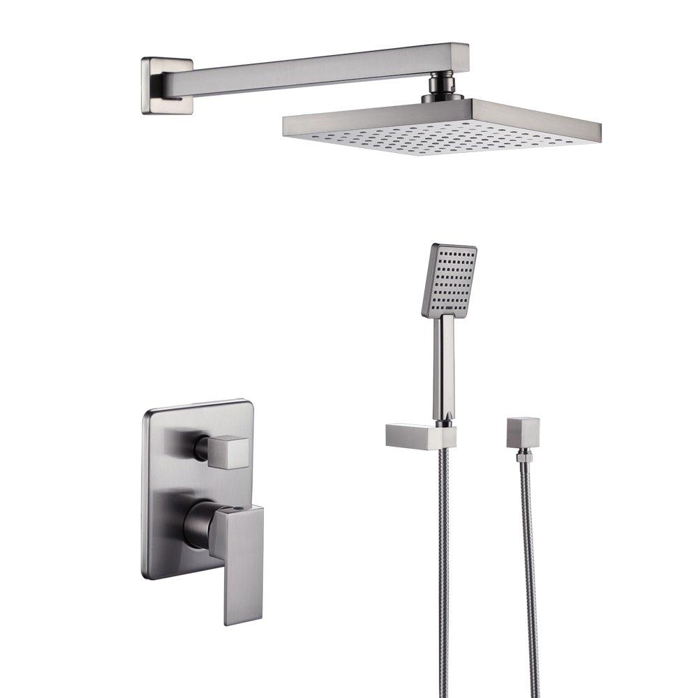 KES Single Handle Shower Faucet Trim Valve Body Hand Shower Complete Kit X622