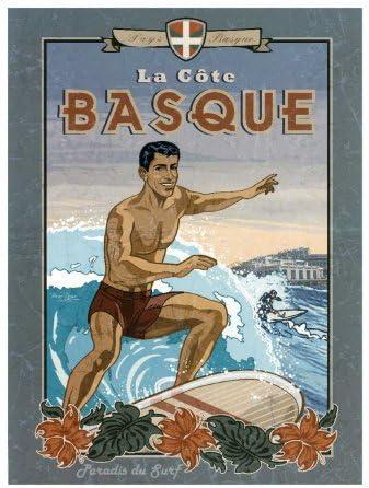 La aerosol de tinte para Vasco de Surf Póster por Bruno Pozzo ...