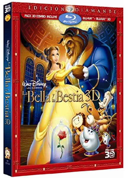 La Bella Y La Bestia Ed-Diamante-3dcombo [Blu-ray]: Amazon.es: Dibujos Animados, Gary Trousdale, Kirk Wise, Dibujos Animados, Don Hahn: Cine y Series TV