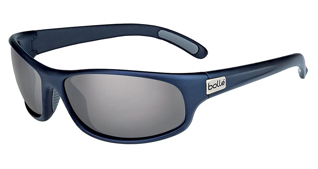 Bolle Anaconda Polarized TNS Gun Oleo AF Sunglasses - Mat Blue, Medium/Large 11672