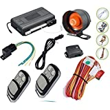 Latest Remote Engine Start Car Alarm And immobiliser With Central Locking OutPut