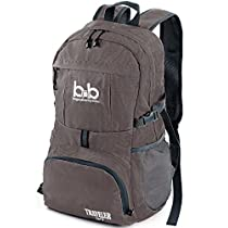Lightweight Durable Foldable Travel Hiking Backpack, Daypack for Men, Women, Kids