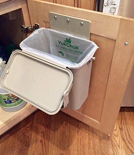 YukChuk Under-Counter Kitchen Food Waste Compost Container