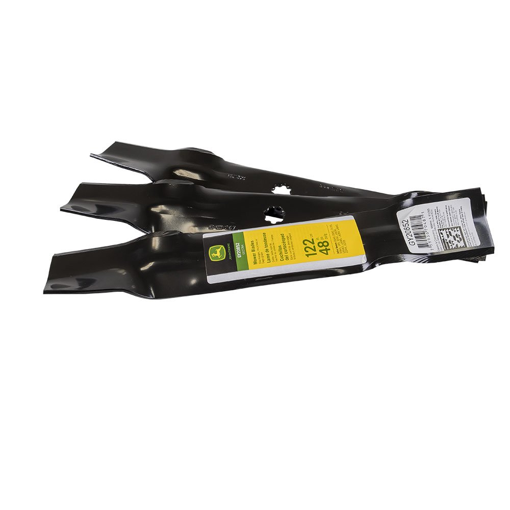 John Deere Original Equipment Mower Blade Kit #GY20852