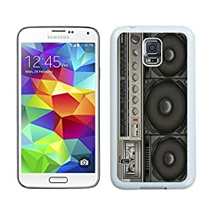 Custom Samsung Galaxy S5 Case Protective <Neo Hybrid> <Satin Silver> Slim Fit Dual Protection Cover for Galaxy S5 and Galaxy S5 Prime(2015)-Satin Silver,,Boombox Samsung Galaxy S5 Case White Cover 1