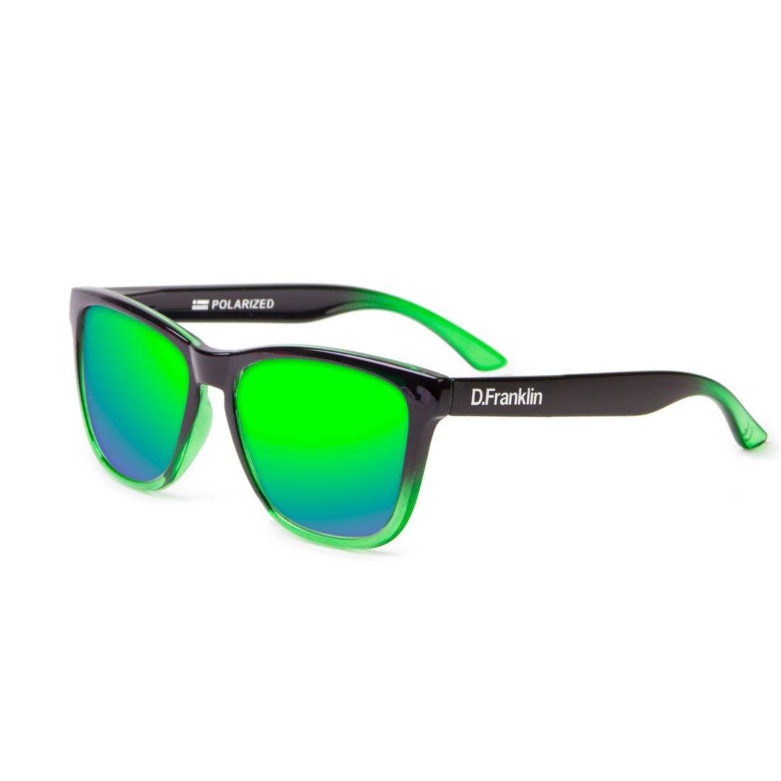 D. Franklin Roosevelt Gafas de Sol, Verde/Negra, 53 Unisex ...