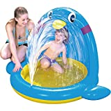 Piscina Spray Pinguim Jilong 60L/145x106x91cm