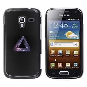 Be Good Phone Accessory // Dura Cáscara cubierta Protectora Caso Carcasa Funda de Protección para Samsung Galaxy Ace 2 I8160 Ace II X S7560M // Galaxy Triangle Hipster
