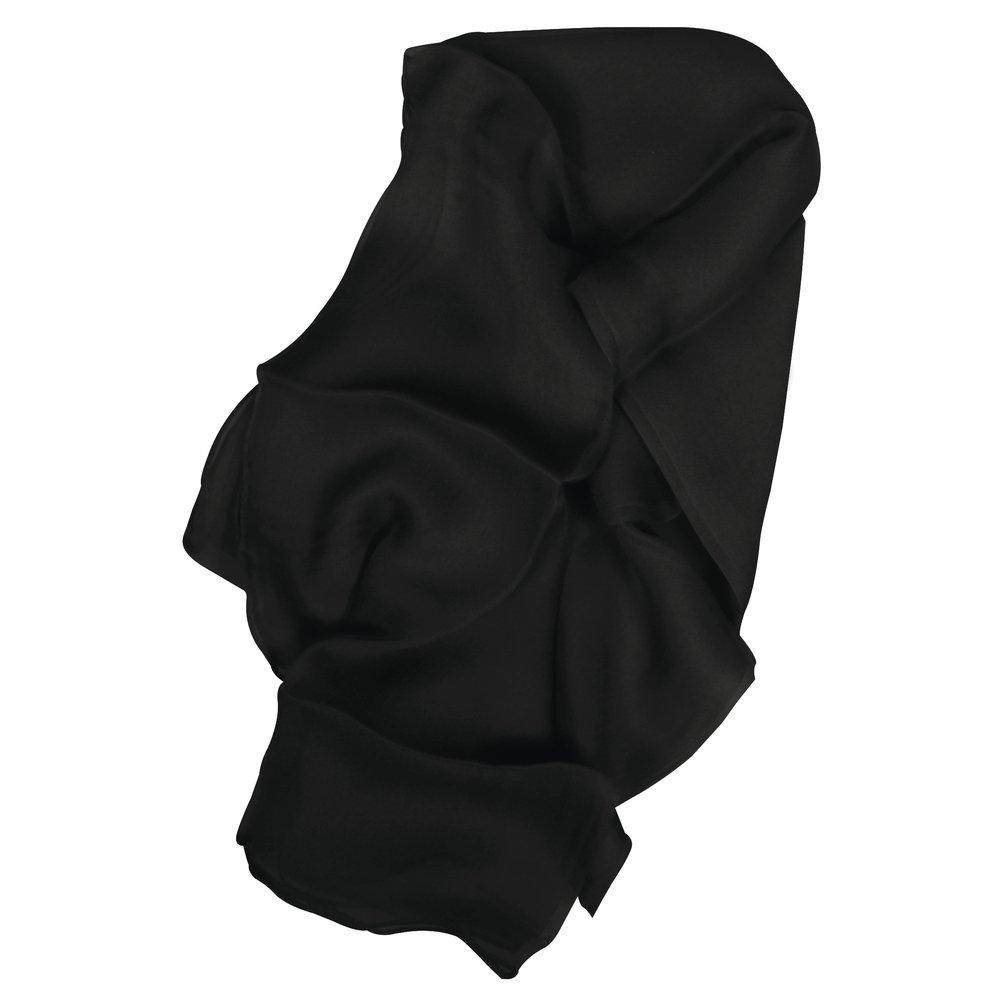 Rayher 53800102Chiffon di seta sciarpa, 180x 55cm, 3,5micrometri, circa 15G, 100% seta, bianco Rayher Hobby