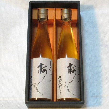 Nanaore plum union Japan small plum Nanaore small plum plum syrup: With 500mlX2 bottles cosmetic box by Nanaore plum union