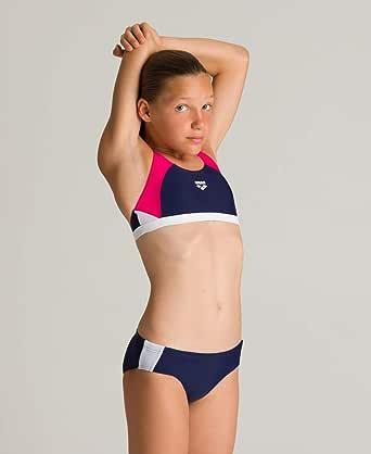 ARENA Mädchen Sport Bikini REN Parte Superior de Bikini Niñas