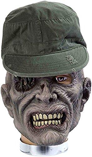 Forum Novelties Zombie Mask with Hat, Sarge -