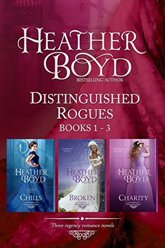 Distinguished Rogues Book 1-3: Chills, Broken, Charity cover