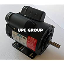 5HP SPL LEESON ELECTRIC MOTOR 230 VOLTS 3450 RPM P6K34DB22 116523.00 15 AMP REVERSIBLE CW OR CCW ROTATION