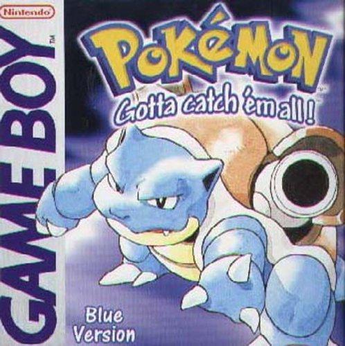 Pokemon Blue Version - Working Save Battery (Renewed) (Pokemon Gameboy Games)