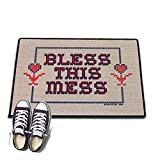 HIGH COTTON Welcome Doormat - Bless This Mess