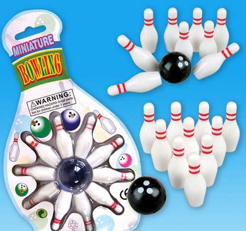 MINI BOWLING GAME, Case of 288 by DollarItemDirect