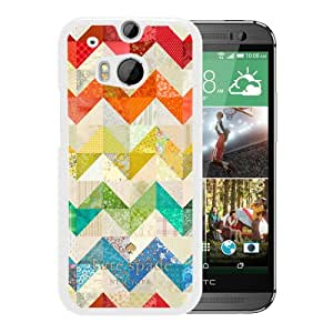 Fashionable And Unique Kate Spade Cover Case For HTC ONE M8 White Phone Case 89