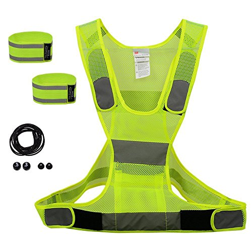 Running Safety Vest Set Reflective