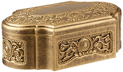 UPC 096069121084, Carson Home Accents Keepsake Music Box Playing Fur Elise, Antique Gold