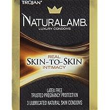 Special pack of 5 TROJAN NATURALAMB 98050 3 per pack
