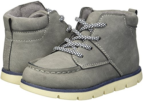 Pictures of OshKosh B'Gosh Boys' Wildon Ankle Boot, Charcoal, 8 M US Toddler 4