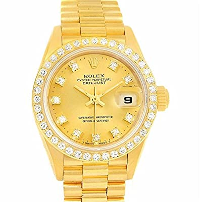 Rolex President automatic-self-wind womens Watch 69138 (Certified Pre-owned)