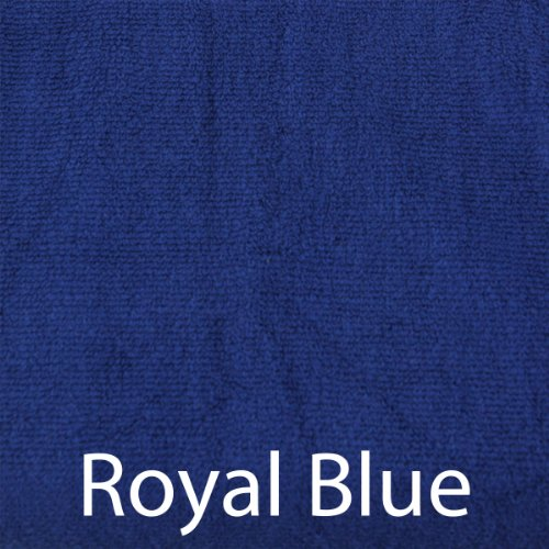 Luxury Spa Ultra Soft 70% Rayon Bamboo 30% Organic Cotton Blend Bath Towel - 2pc - Royal (Royal Hotel Resort)