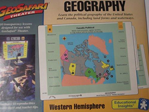 - Geosafari Theater Geography Western Hemisphere Ei-7901