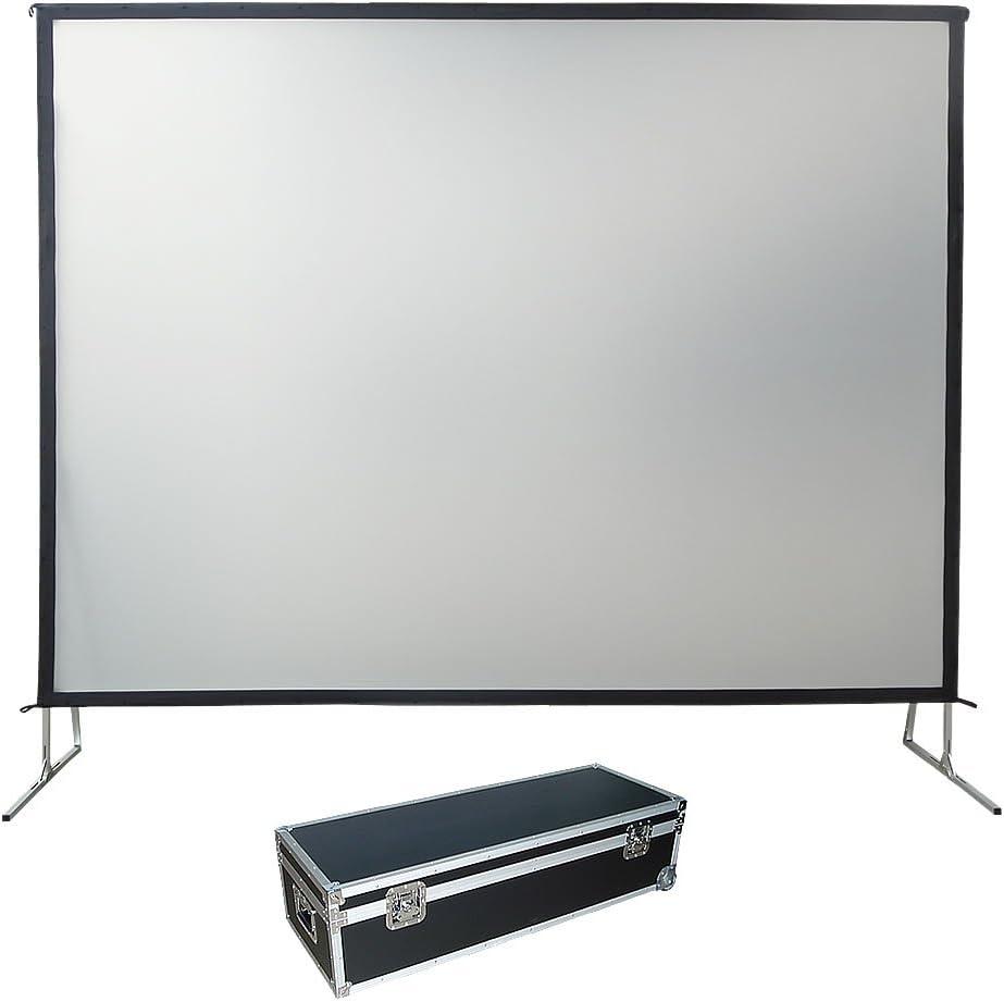 508 cm Fast Fold pantalla de proyección, trasero y delantero, 4:3: Amazon.es: Electrónica
