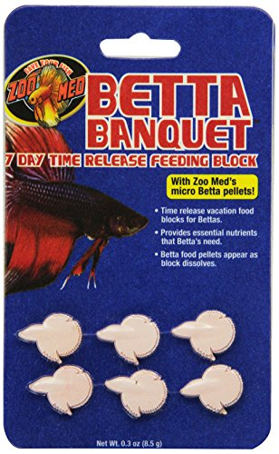 Zoo Med Laboratories AZMBB7 Betta Banquet Blocks ()