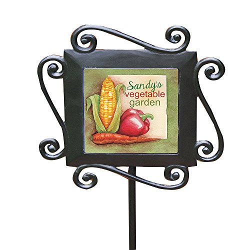 (GiftsForYouNow Vegetable Personalized Garden Stake)