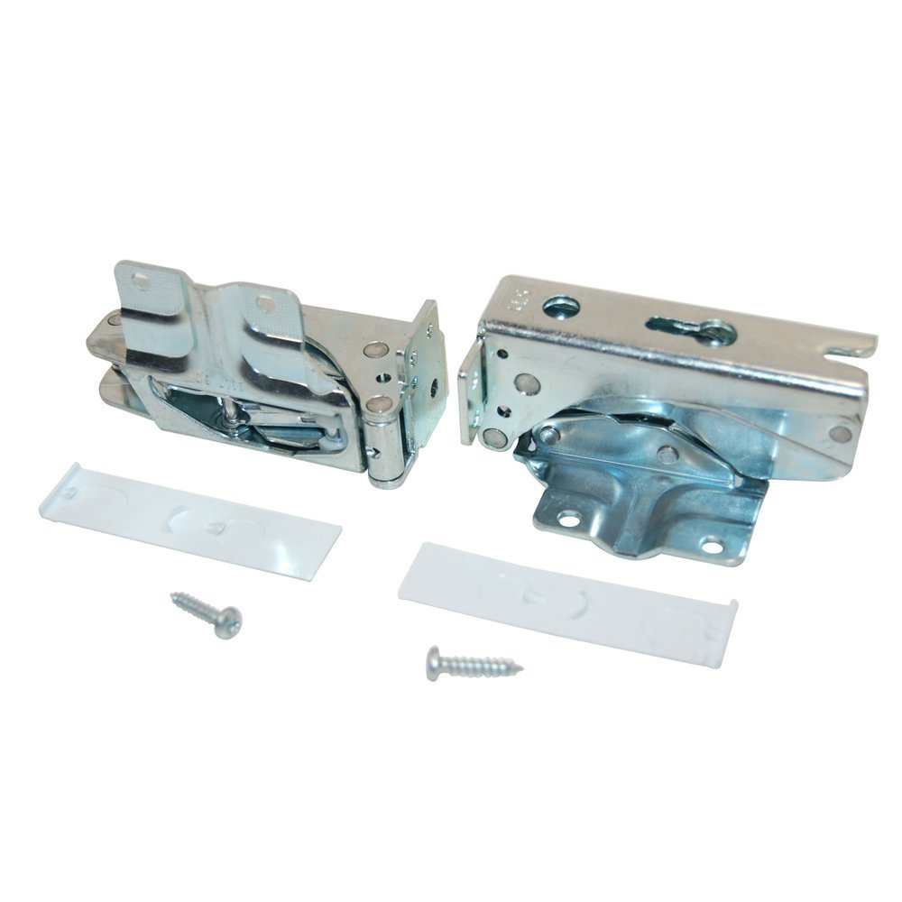 Bosch Refrigeration Door Hinges (1 Pair). Genuine part number 481147 Bosch 481147