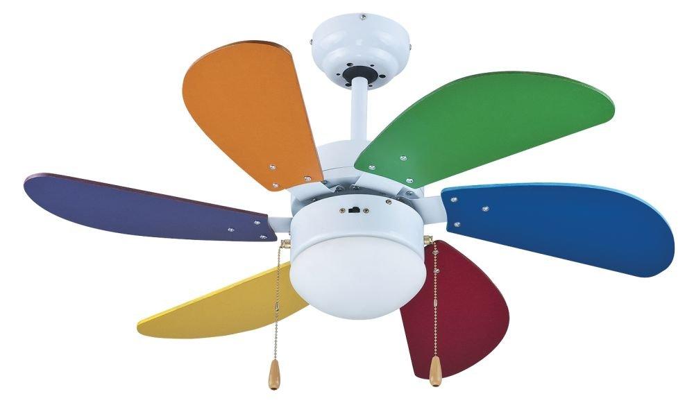 Multicolore Zephir ZFS690C Ventilatore da Soffitto