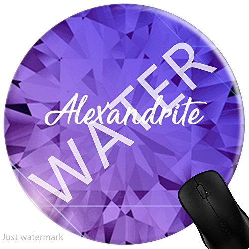 Mouse Pad Gaming Beautiful Birthstone June Alexandrite Gemstone, Premium-Textured Surface, Non-Slip Rubber Base, Laser & Optical Mouse Compatible, Mouse mat (Alexandrite Gemstone Gems)